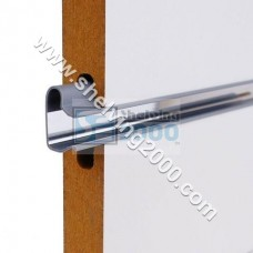 Slatwall 2.4m Aluminium insert strip