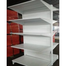 1.8m High x 914mm Wide double sided Supermarket unit
