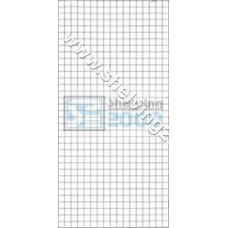 Wire Mesh Flat 1.15mx750mm White