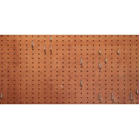 pegboard sheet 2.4m x 1.2m mesonite