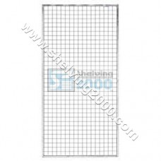 Wire Mesh Framed 2mx1m White