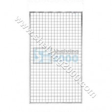 Wire Mesh Framed 1.5mx1m White