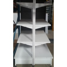 1.5m High x 914mm Wide double sided Supermarket unit