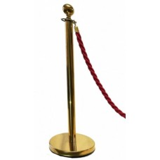 BARRIER POST STANCHION GOLD