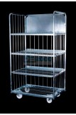 Egg Trolley  4 Tier Electro-Galvanised 1.8Hx960Wx665D