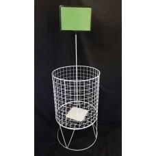 Round Dump Bin Basket