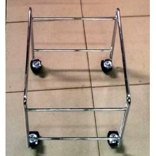TROLLEY FOR HAND SHOPPING BASKET WITH WHEELS