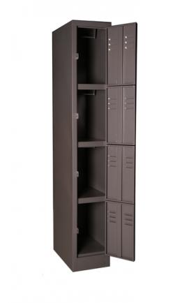4 Tier Steel Locker  (1800*450*300)