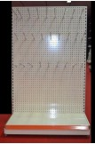 free standing pegboard
